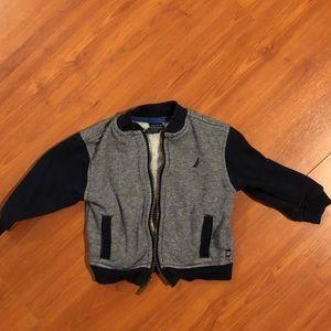 Nautica zippered Jacket 6-9 months